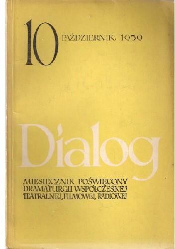 Okładka książki Dialog, nr 10 / październik 1959