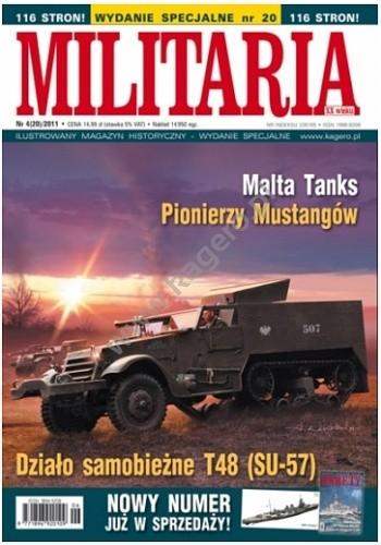 Okładka książki Militaria - WYDANIE SPECJALNE nr 20 (2011/4)