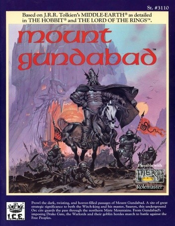 Okładka książki Mount Gundabad