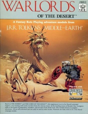 Okładka książki Warlords of the Desert