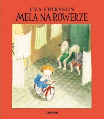 Okładka książki Mela na rowerze