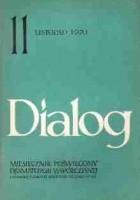 Dialog, nr 11 / listopad 1970