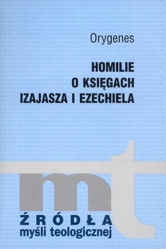 Okładka książki Homilie o Księgach Izajasza i Ezechiela
