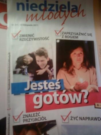 Okładka książki Niedziela Młodych, 36/2011