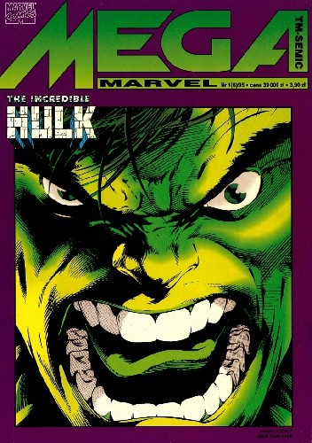 Okładka książki Mega Marvel #06: The Incredible Hulk