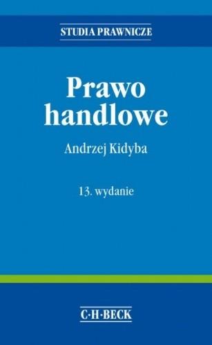 Okładka książki Prawo handlowe
