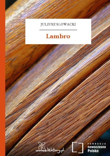 Okładka książki Lambro