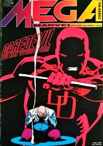 Okładka książki Mega Marvel #07: Daredevil - The Man Without Fear