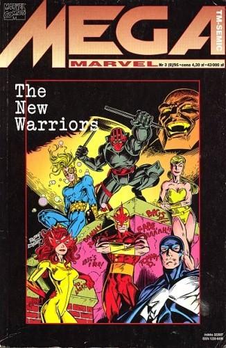 Okładka książki Mega Marvel #08: The New Warriors