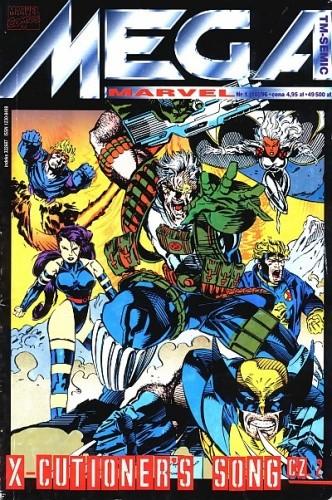 Okładka książki Mega Marvel #10: X-Cutioner's Song cz. 2