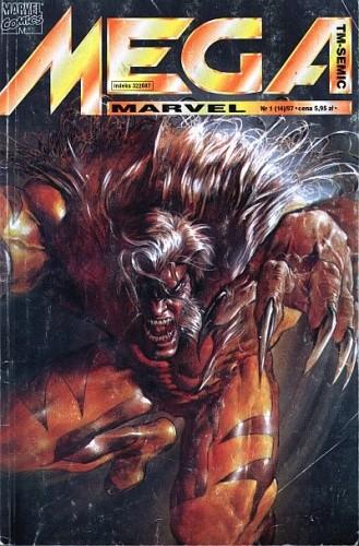Okładka książki Mega Marvel #14: Sabretooth