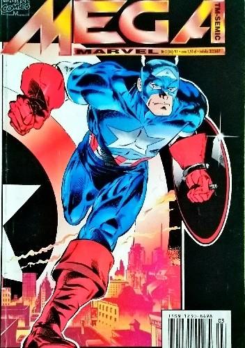 Okładka książki Mega Marvel #16: Kapitan Ameryka