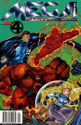 Okładka książki Mega Marvel #18: Heroes Reborn: Fantastic Four