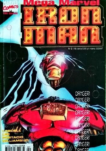 Okładka książki Mega Marvel #19: Iron Man