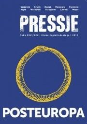 Okładka książki Pressje, teka 26-27 / 2011. Posteuropa