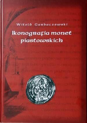 Okładka książki Ikonografia monet piastowskich