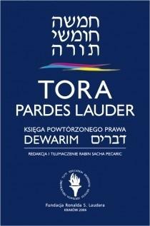 Okładka książki Tora Pardes Lauder. Dewarim - Księga Powtórzonego Prawa