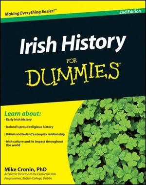 Okładka książki Irish History For Dummies