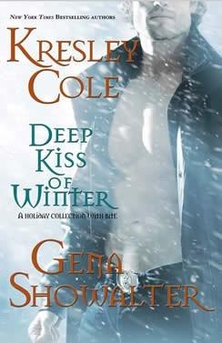 Okładka książki Deep Kiss of Winter. (Includes: Immortals After Dark, #8; Alien Huntress, #4.5)