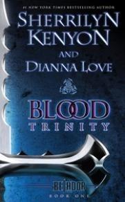 Okładka książki Blood Trinity