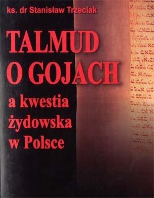 Okładka książki Talmud o gojach a kwestia żydowska w Polsce.