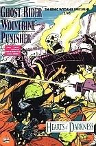 Okładka książki Ghost Rider/Wolverine/Punisher: Serca Ciemności