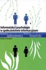 Okładka książki Informatyka i psychologia w społeczeństwie informacyjnym