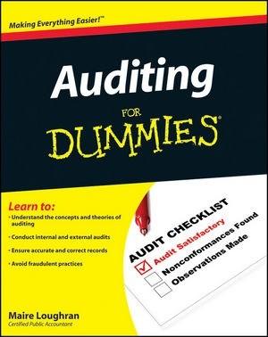 Okładka książki Auditing for Dummies