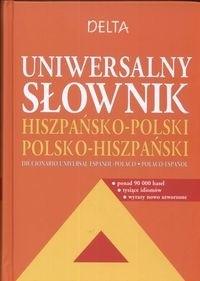 Okładka książki Uniwersalny słownik hiszpańsko - polski polsko - hiszpański