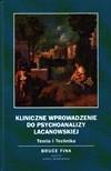 Okładka książki Kliniczne wprowadzenie do psychoanalizy lacanowskiej