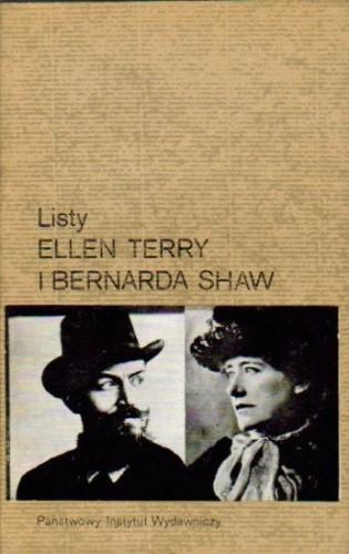 Okładka książki Listy Ellen Terry i Bernarda Shaw