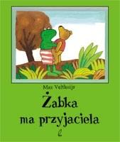 Okładka książki Żabka ma przyjaciela
