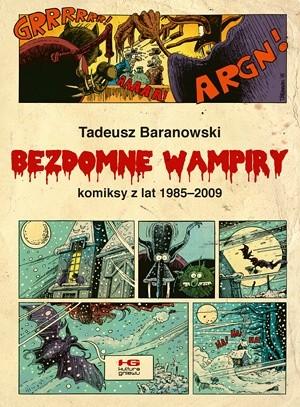Okładka książki Bezdomne wampiry
