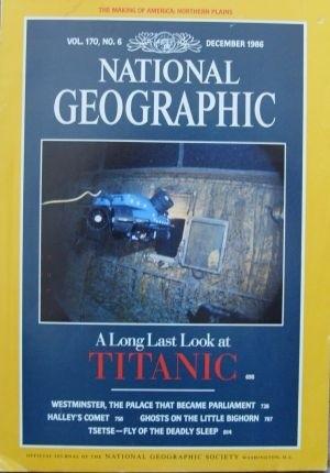 Okładka książki National Geographic vol.170, 6/1986