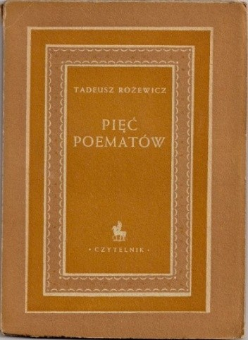 Okładka książki Pięć poematów
