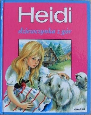 Okładka książki Heidi. Dziewczynka z gór