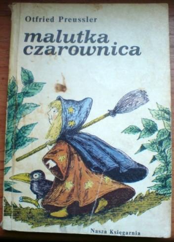 Okładka książki Malutka czarownica