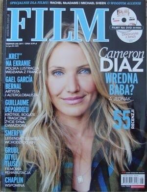 Okładka książki Film, sierpień (08) 2011