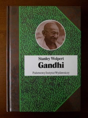Okładka książki Gandhi