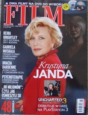 Okładka książki Film, listopad (11) 2011