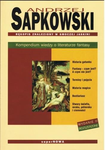 Okładka książki Rękopis znaleziony w smoczej jaskini. Kompendium wiedzy o literaturze fantasy. Wydanie II rozszerzone