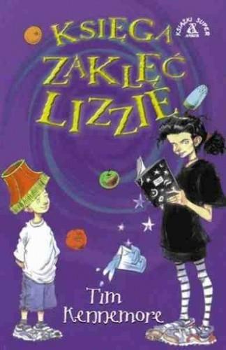 Okładka książki Księga zaklęć Lizzie