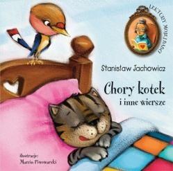 Okładka książki Chory kotek i inne wiersze