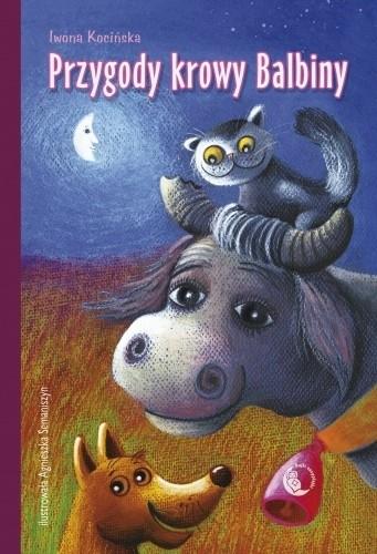 Okładka książki Przygody krowy Balbiny