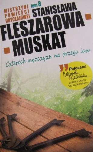 Okładka książki Czterech mężczyzn na brzegu lasu