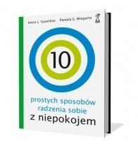 Okładka książki 10 prostych sposobów radzenia sobie z niepokojem