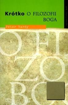 Okładka książki Krótko o filozofii Boga