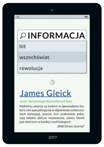 Okładka książki Informacja. Bit, wszechświat, rewolucja