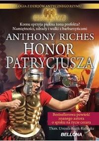 Okładka książki Honor Patrycjusza
