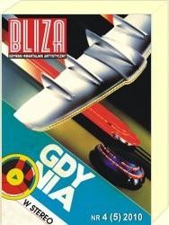 Okładka książki BLIZA - Gdyński Kwartalnik Artystyczny nr 4 (5) 2010 - Mniejszości